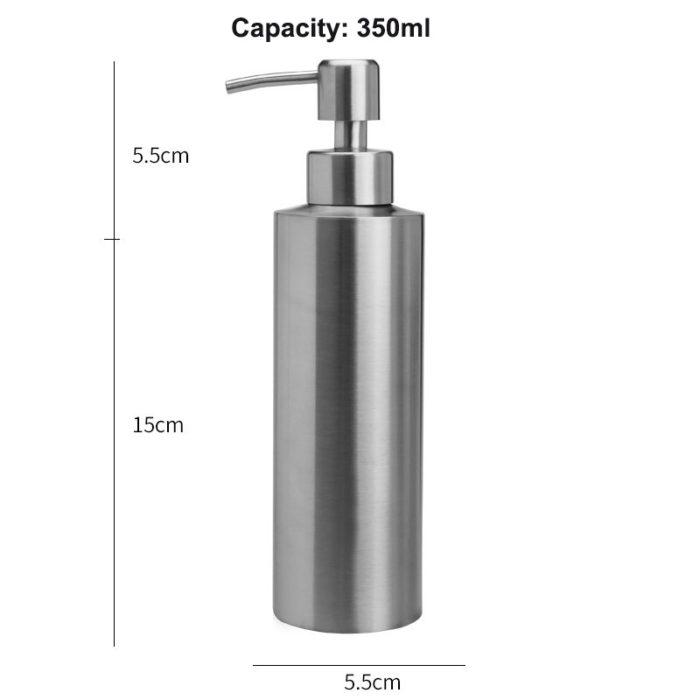 stainless steel soap dispenser 350ml