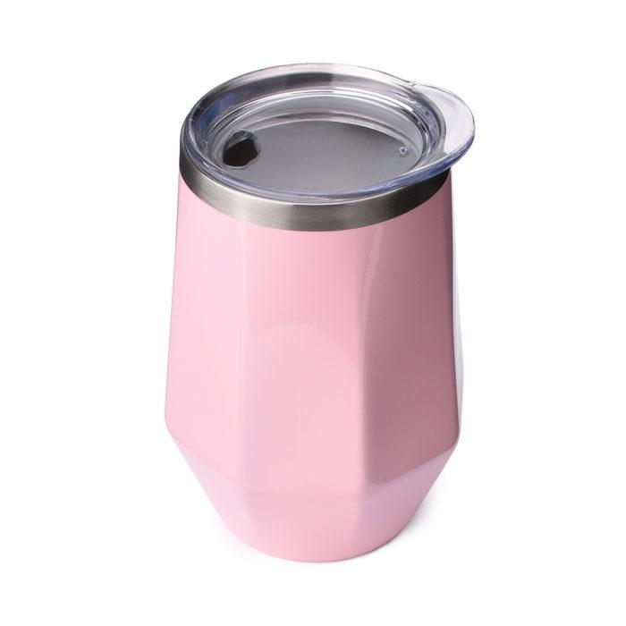 diamond shaped stainless steel tumbler cup mug