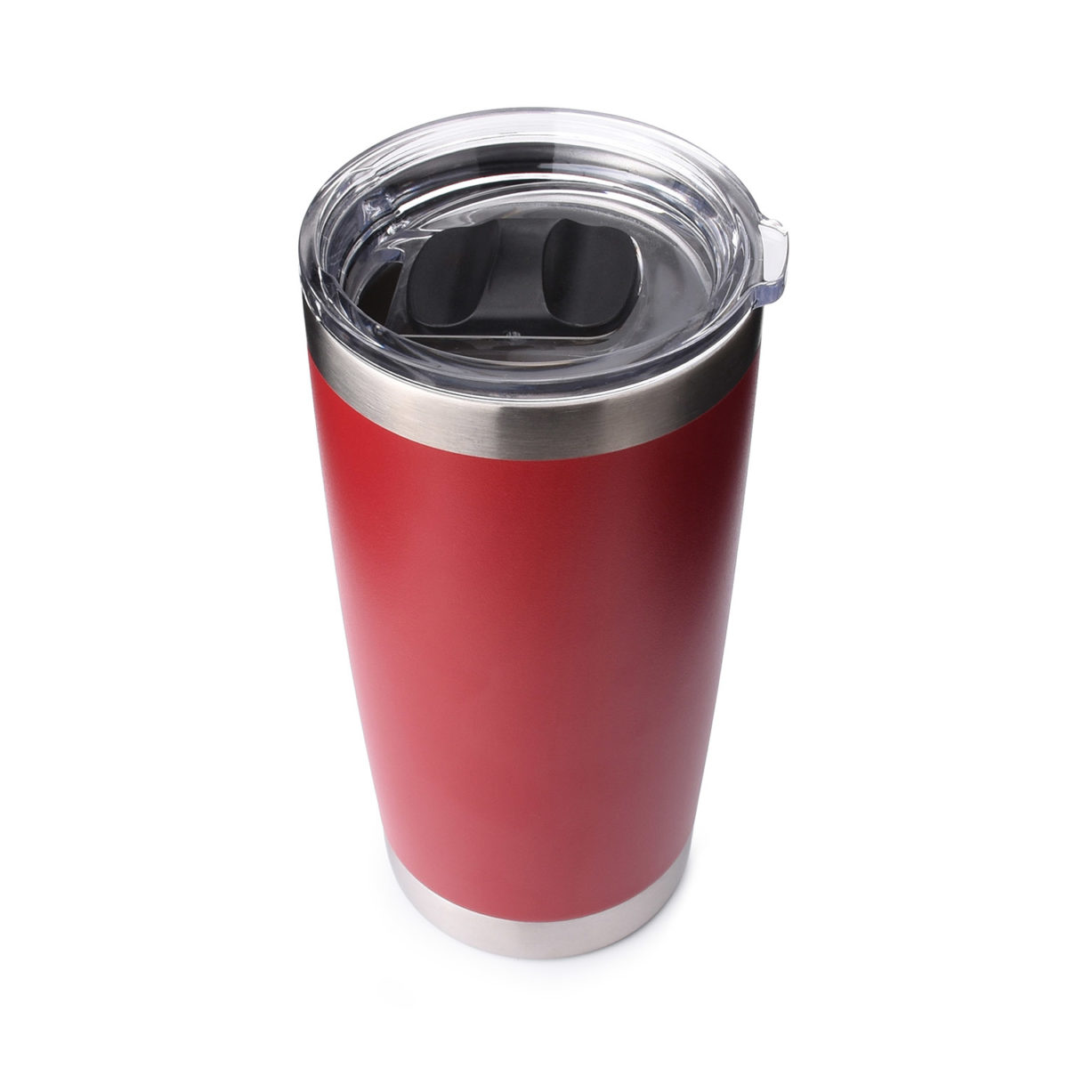 20 oz tumbler with magnetic slider cover