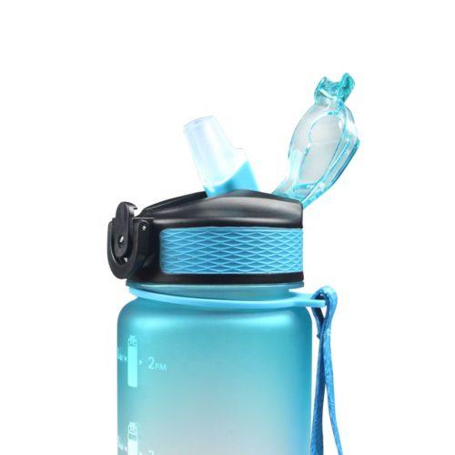 Tritan water bottle 32oz with straw lid