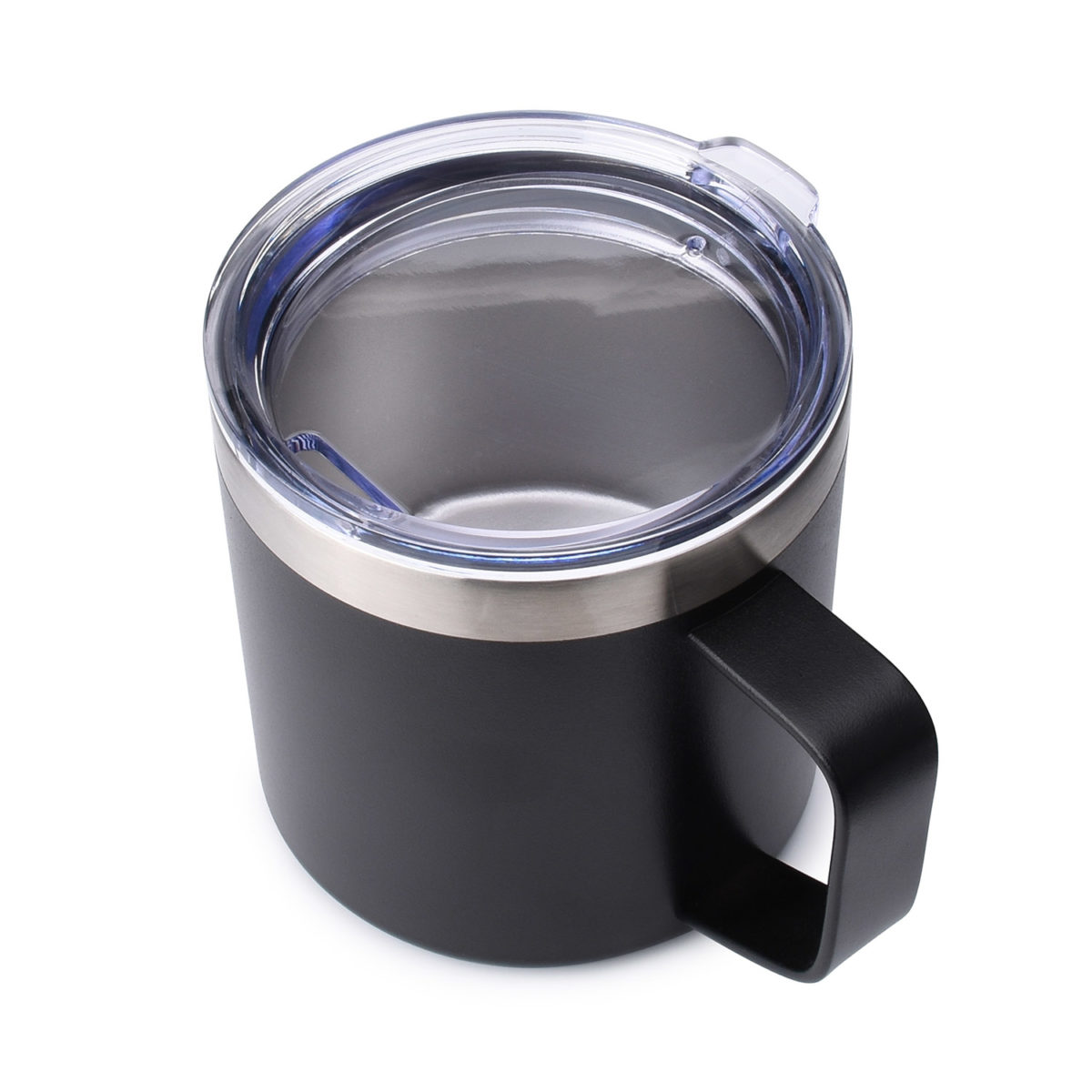 vacuum insulated stainless steel rambler 14 oz mug with standard lid