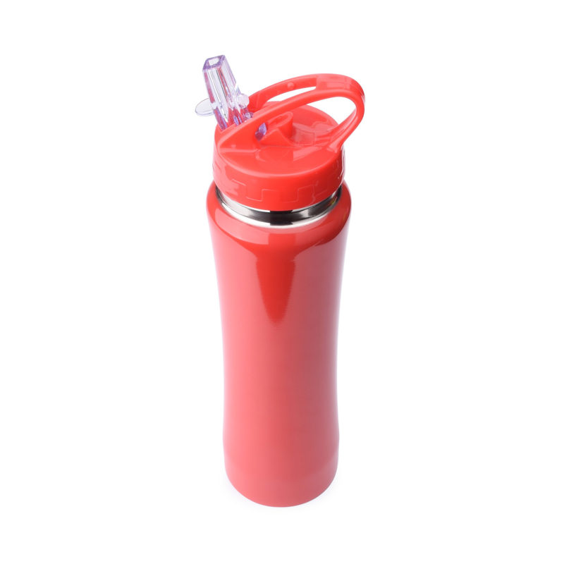 500ml OEM vacuum flask with straw lid