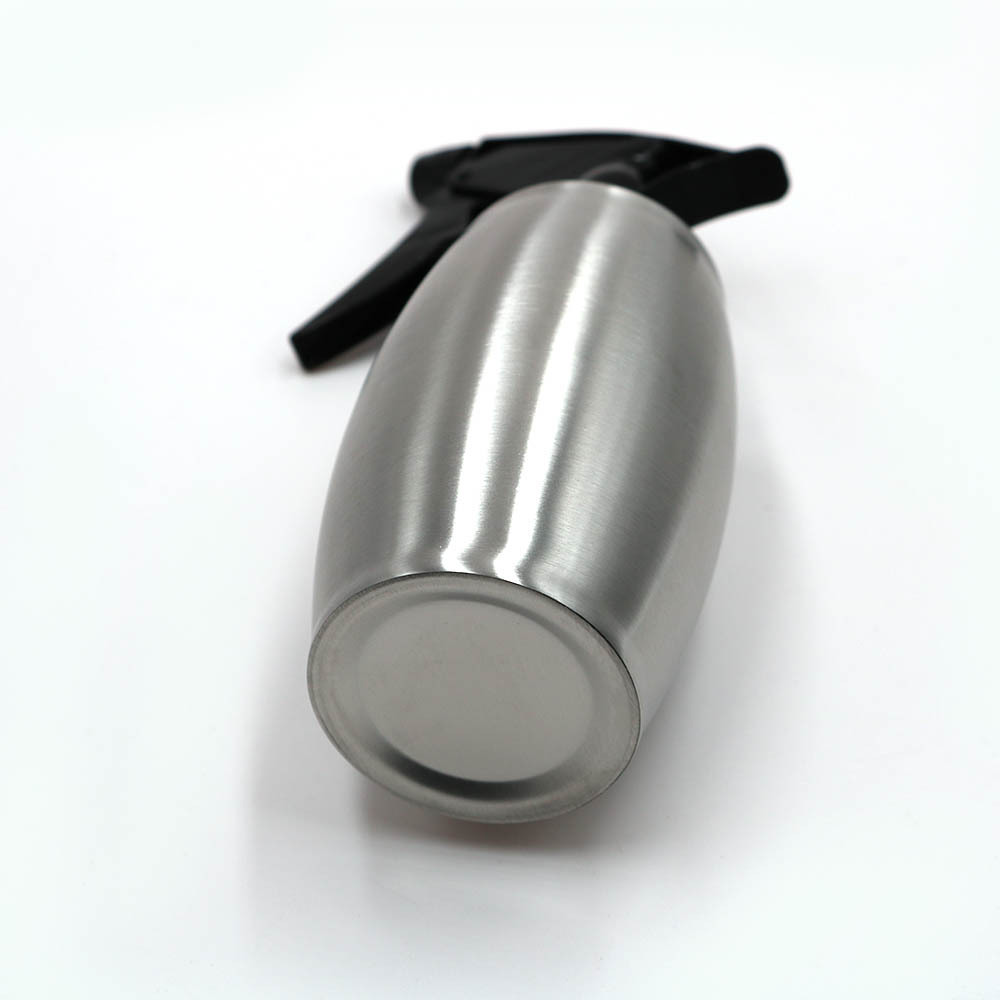 Plant Mister Spray Bottle Stainless Steel Hand Press Pump Flower Watering Cans