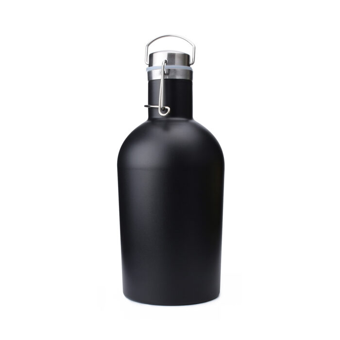 insulated growler stainless steel for beer cold and carbonated