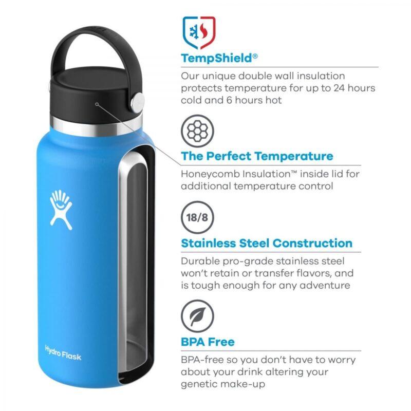 hydro flask wide mouth water bottle