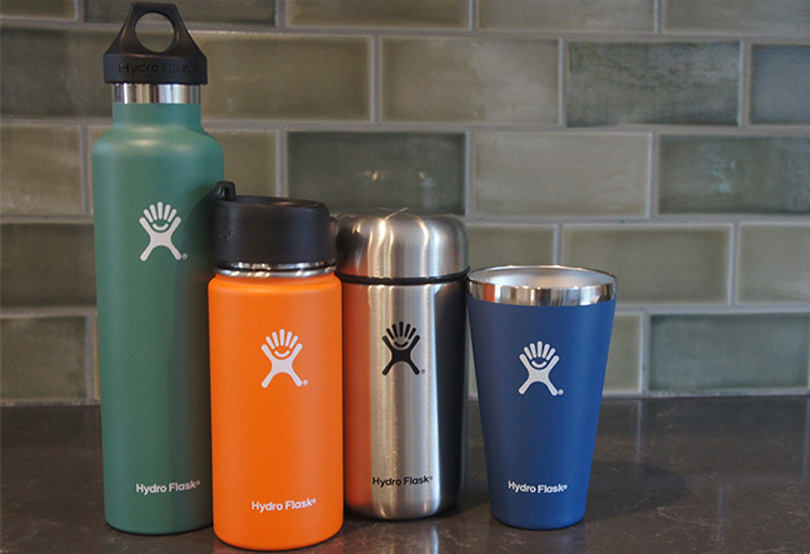 vacuum insulated stainless steel hydro flask water bottle