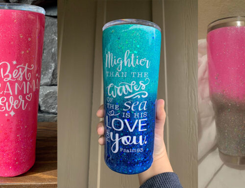 Wholesale Blank Tumblers – The Entire Process of Glitter Epoxy Tumbler DIY