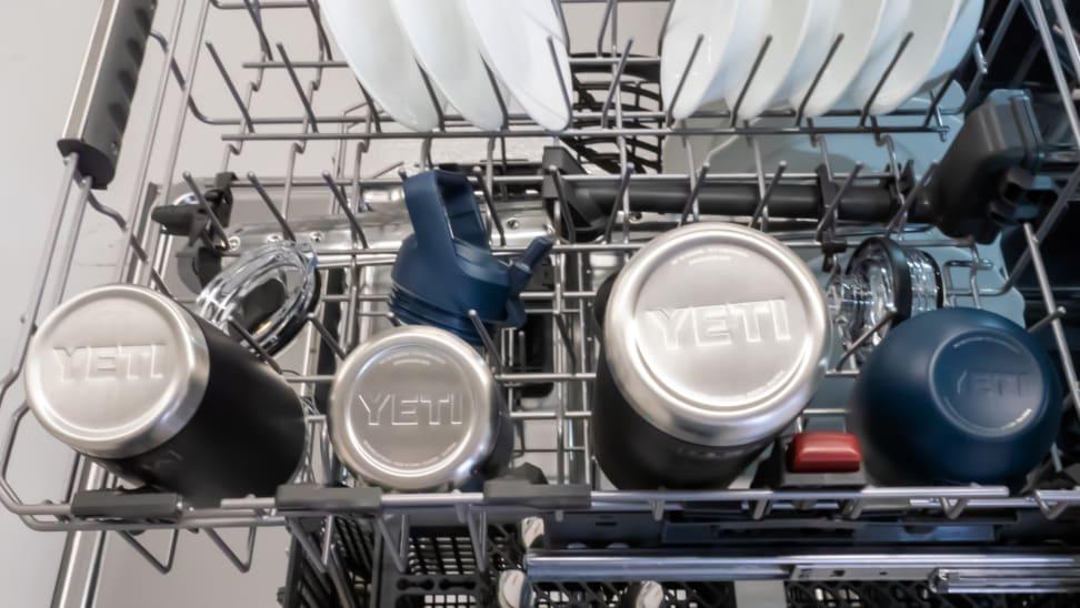 Yeti tumblers in dishwasher