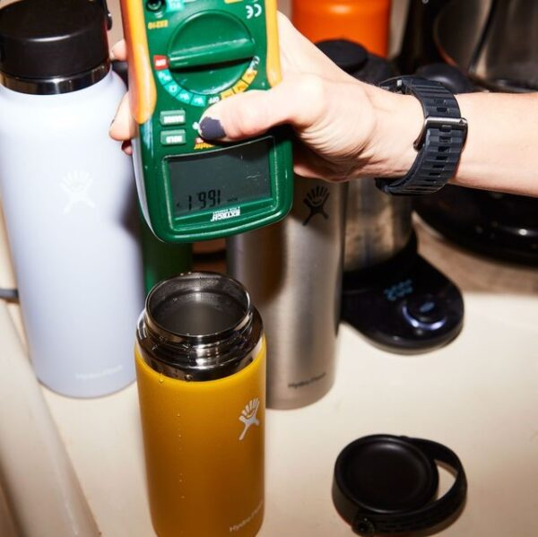 insulated water bottle manufacturing and testing
