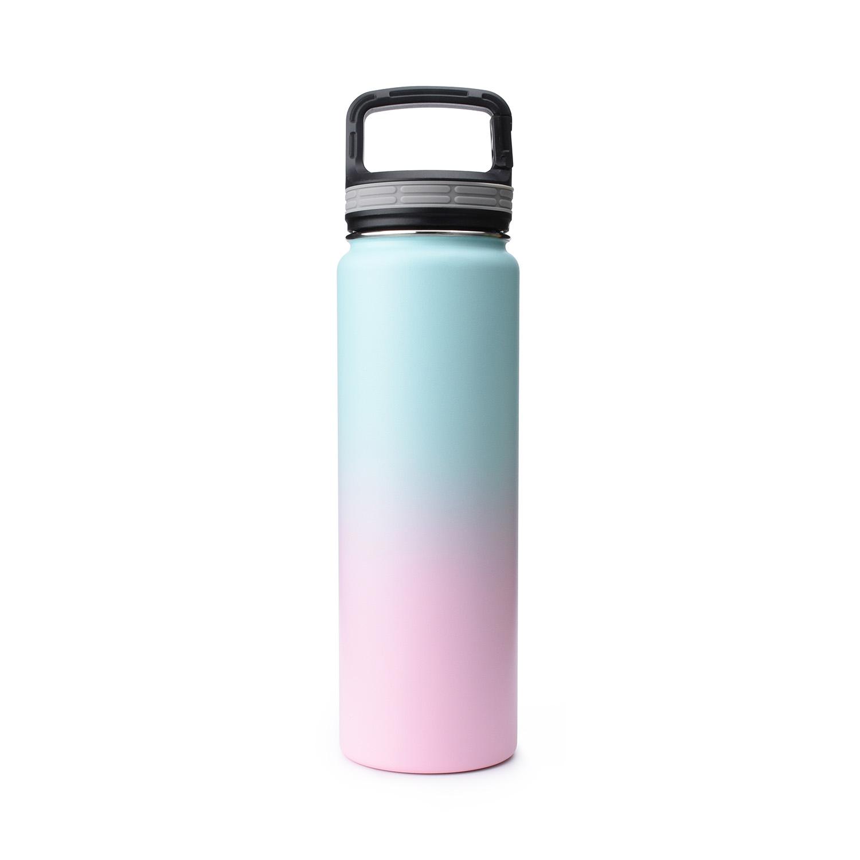 Vacuum Flask water bottle blank bubble gum Simple Iron