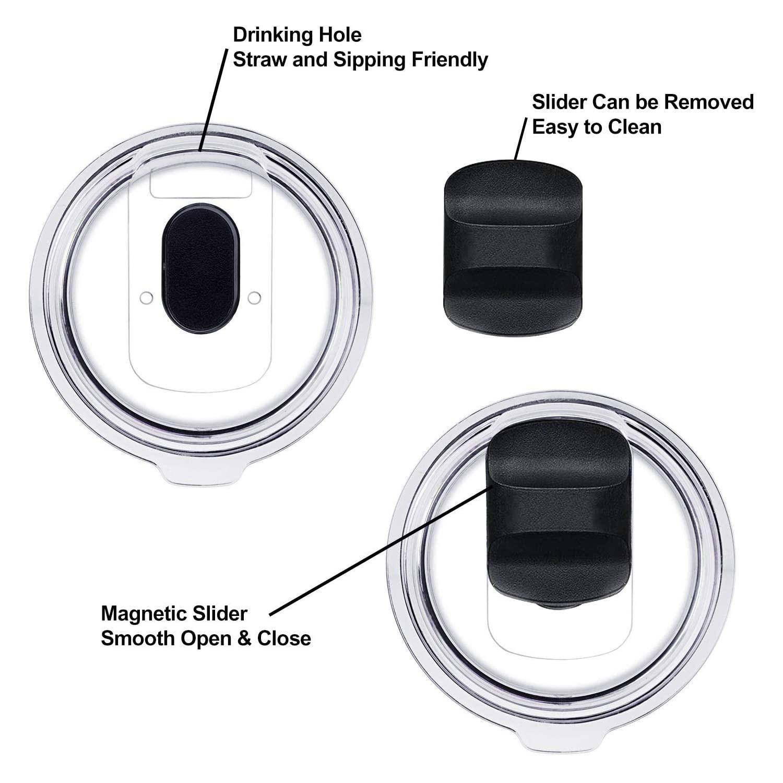 magnetic lid magslide cap for yeti 20oz rambler tumbler